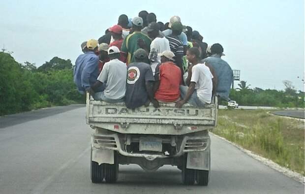 6. Доминиканцы автопутешествие, водители