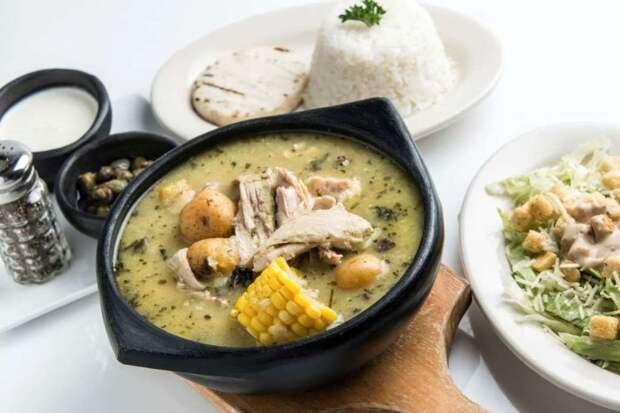 Ахиасо (Колумбия) блюдо, еда, туризм