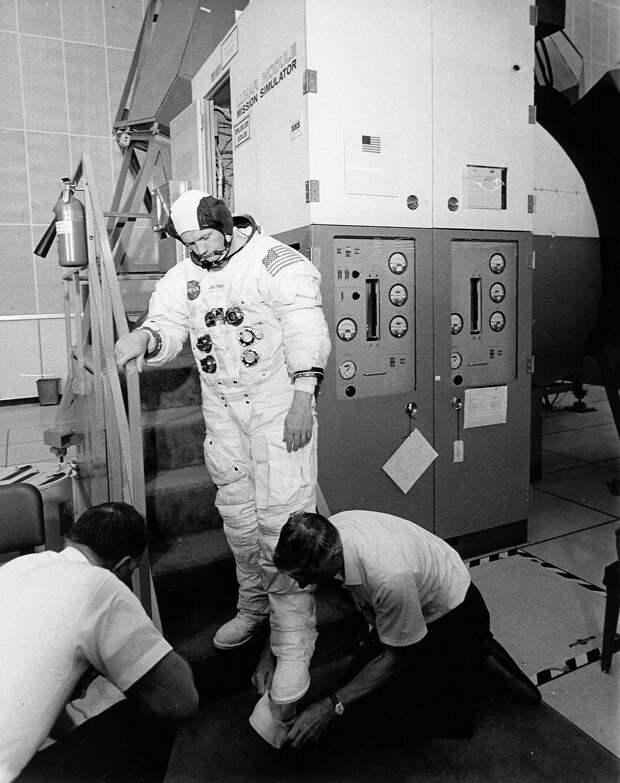 1969. Предполетная проверка