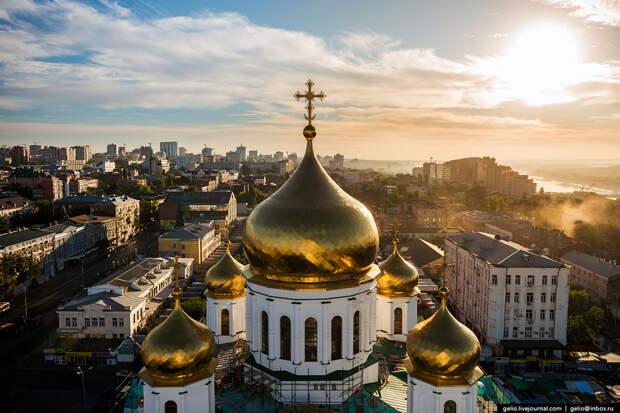 Ростов-на-Дону с высоты птичьего полета