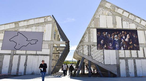 В Крыму завершают строительство мемориального комплекса «Сюрень»