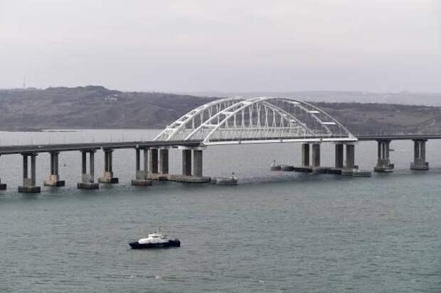 На Украине предложили «взорвать Крымский мост» и устроить России Перл-Харбор