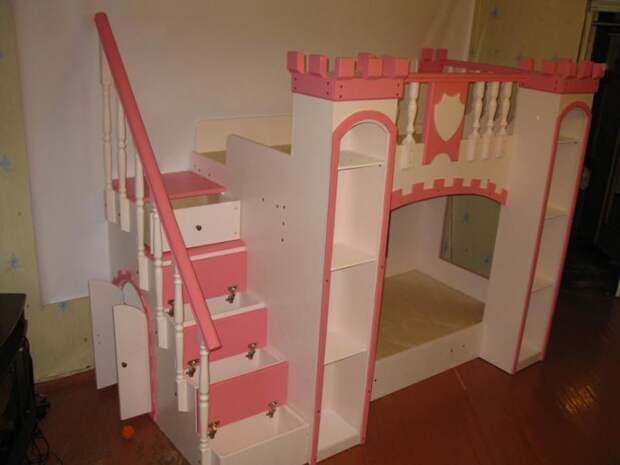 Кровать замок принцессы (Diy)