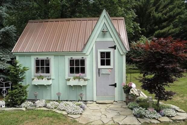 Мятные домики