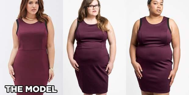Обтягивающее платье из плотного материала из Forever 21: у обеих девушек - размер 2X интернет, полные женщины, шопинг