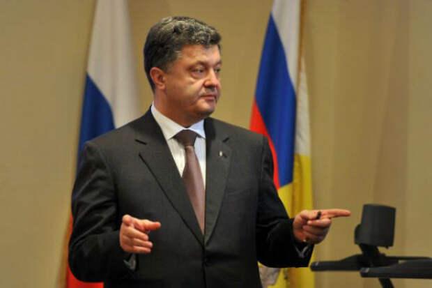 Порошенко объявил о вторжении российских войск на Украину