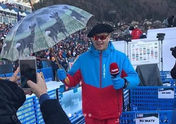 Губерниев напутствовал нашу сборную по биатлону перед чемпионатом мира: «Надо меньше жрать допинг»...
