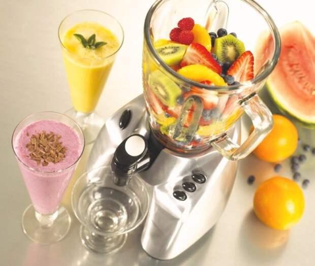 2. Элементарно отмойте блендер кухня, советы, хитрости