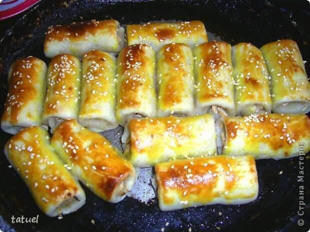 Кулинария Мастер-класс Рецепт кулинарный Мясные трубочки Продукты пищевые фото 14
