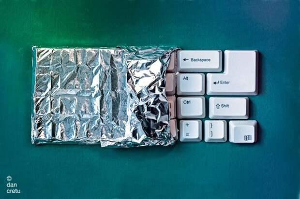 """Техника"" из продуктов"
