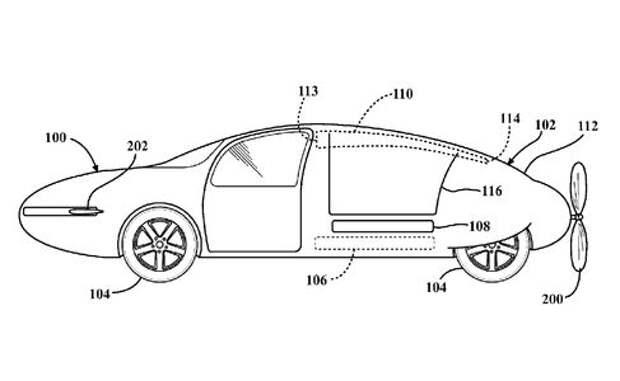 Аэромобилю Toyota приделали пропеллер