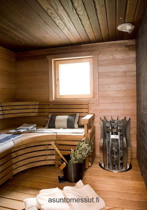Мини-сауна в доме или на даче: 35 интересных идей