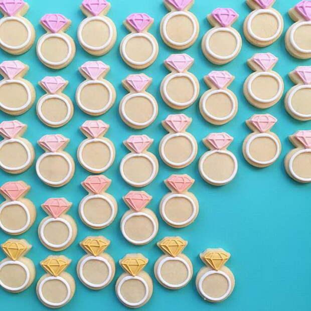 Искусно расписанные печенья American Holly Fox