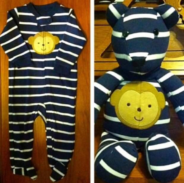 игрушки медведи из ползунков