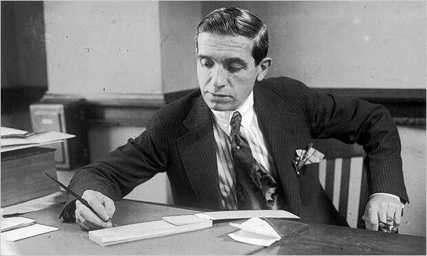 Чарльз Понци (1882-1949) аферы, мошенники