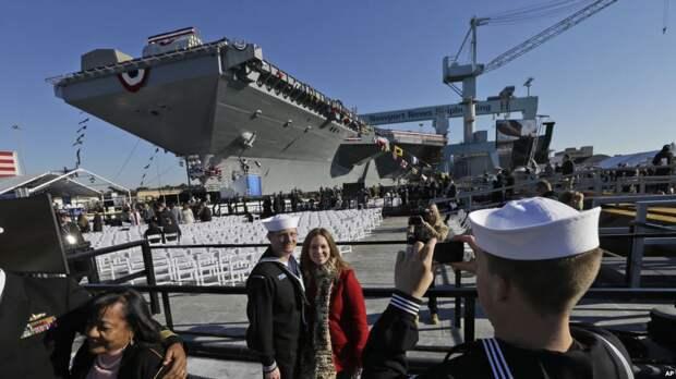 Авианосцы США – корабли, которые делают политику