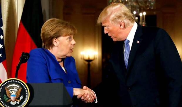 Меркель пошла против Трампа