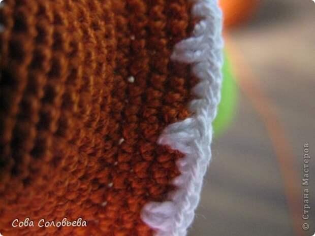 Игрушка Мастер-класс Вязание крючком изготовление Черепашки Пряжа фото 23