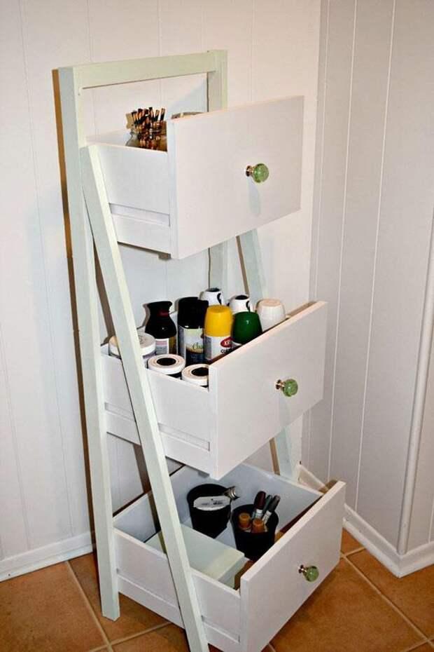 Что можно сделать из оставшихся от комода или шкафа выдвижных ящиков