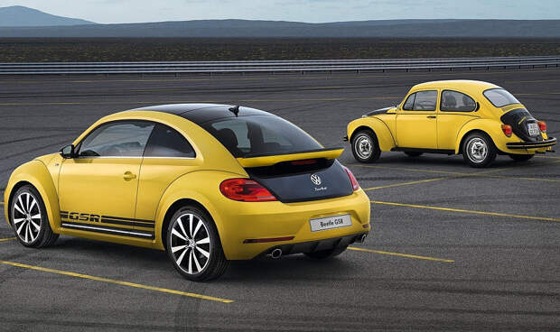 24. VW Beetle авто, история