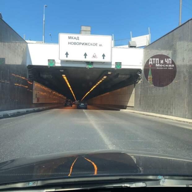 В тоннеле на проспекте Маршала Жукова вновь открыты все полосы