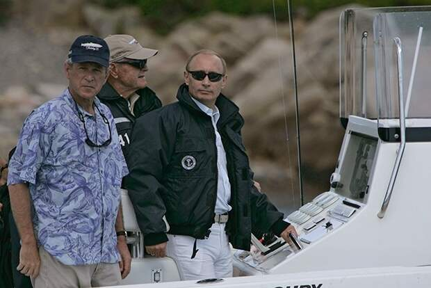 Путин и американские президенты