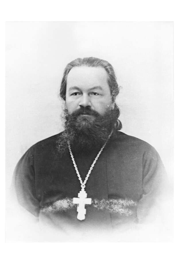Священник Д.Я. Попов