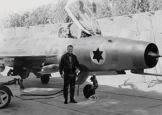 Как советский МиГ оказался в Израиле