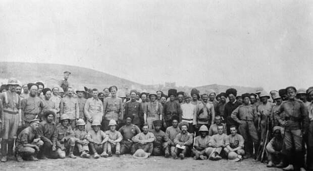 Месопотамская кампания, 1916-1918год.