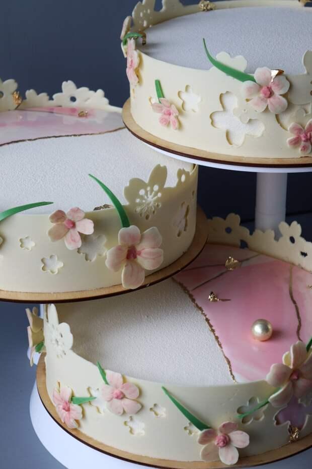 Пятничное «мое», от которого я чуть не поседела Еда, Торт, Свадьба, Муссовый торт, Длиннопост