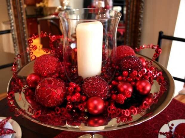 Идеи по оформлению новогоднего стола