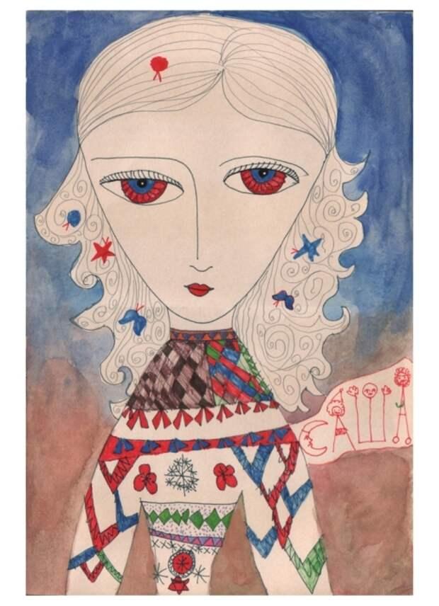 Земной путь девочки-индиго Саши Путря: Тысячи гениальных рисунков всего за 11 лет жизни