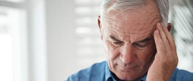 Шумит в голове у пожилого мужчины