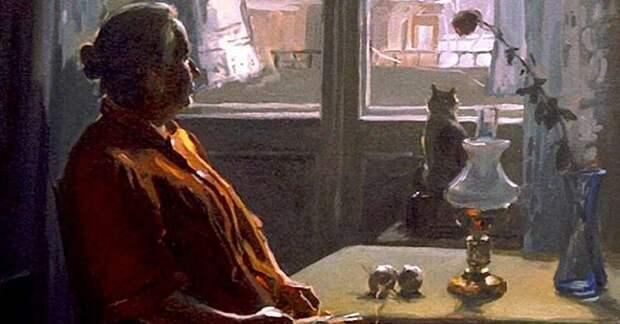«Печальное время — родителей старость» —прекрасное стихотворение Евгения Мартышева