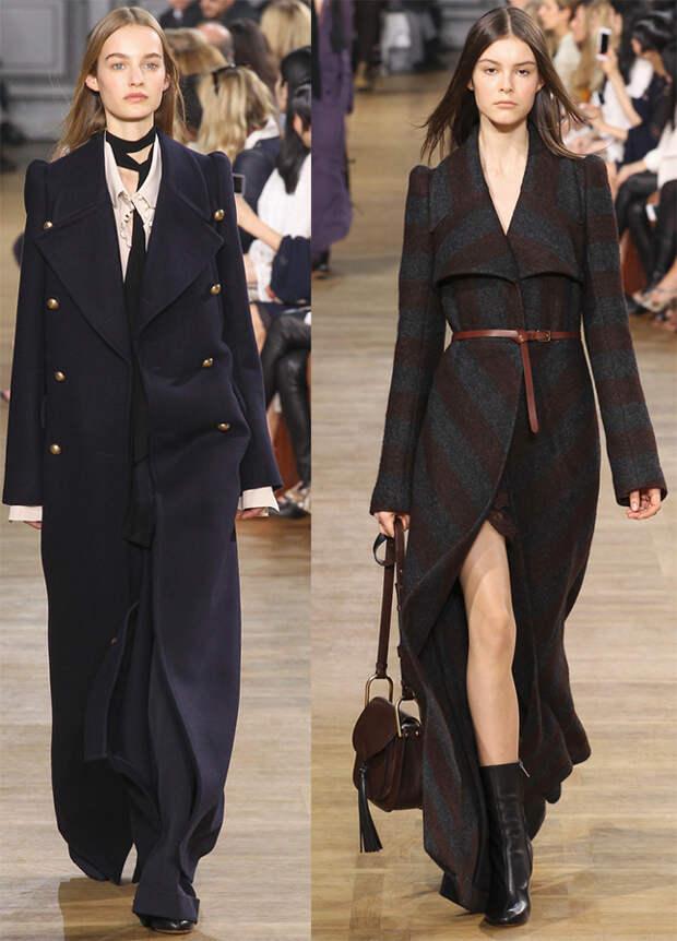 Модные женские пальто Chloé
