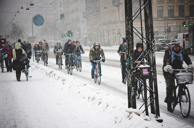 9 советов для поездки на велосипеде зимой