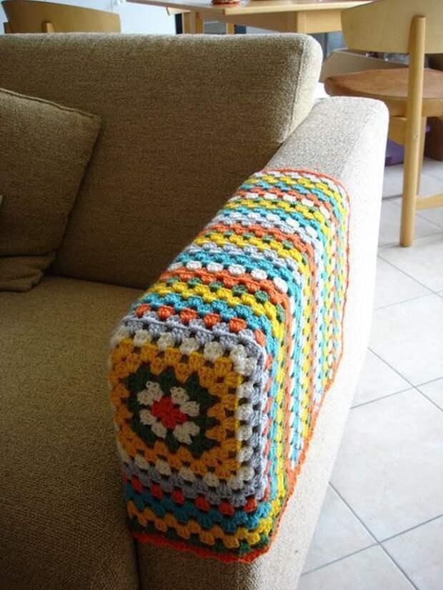 Интерьерное вязание крючком (трафик)