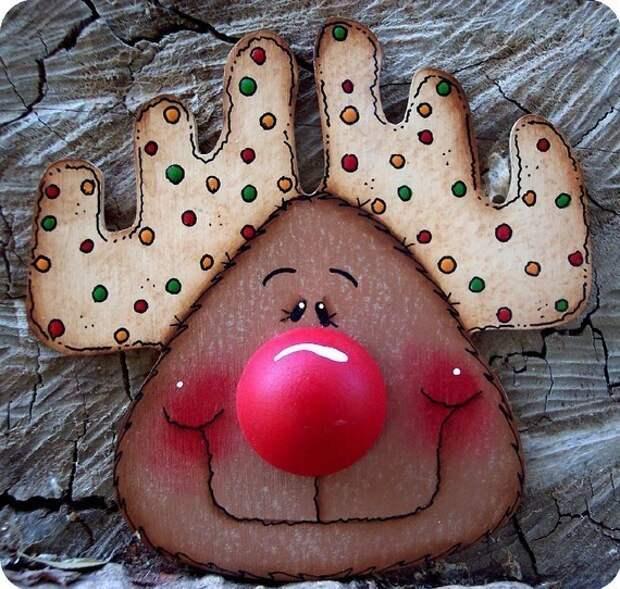 Brenda Sattley: игрушки к Рождеству