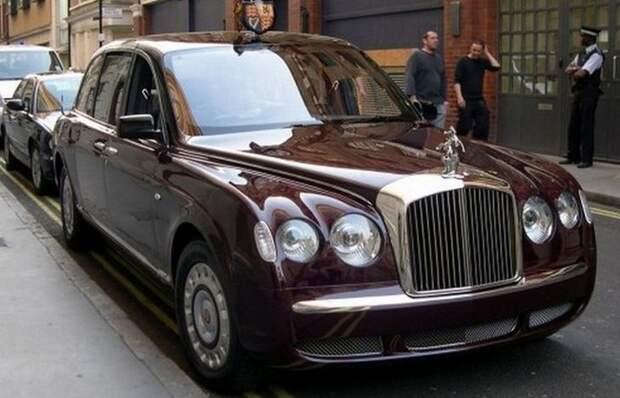 1. Bentley State Limousine лимузин, правительственный автомобиль