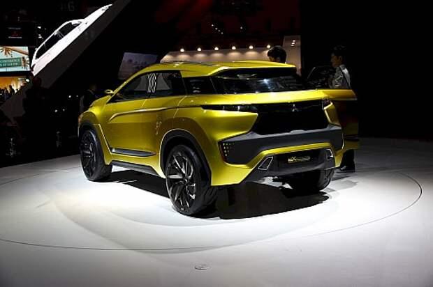 Mitsubishi решила продолжить X-тему (ВИДЕО)
