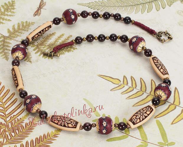 Как сделать бусы и браслеты? Фото работ с подробным описанием использованной фурнитуры.