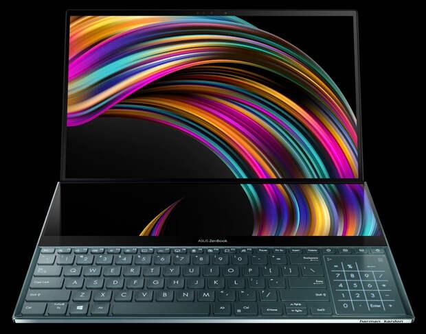 Топовый ноутбук с двумя экранами - Asus Rog Zephyrus 15. В чём фишка?