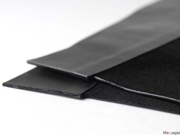 Выкройка и мастер-класс по пошиву сумки-баула из толстой кожи