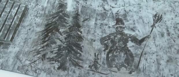 Первая в Ижевске картина на снегу, страницы умерших людей «Вконтакте» и беспорядки на церемонии прощания с Марадоной: что произошло минувшей ночью