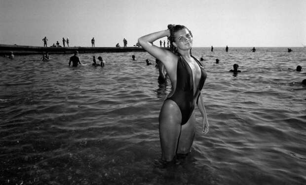 Сочи 80-х в объективе бельгийского фотографа