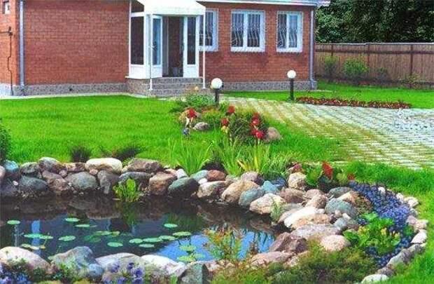 как огород на даче или сад