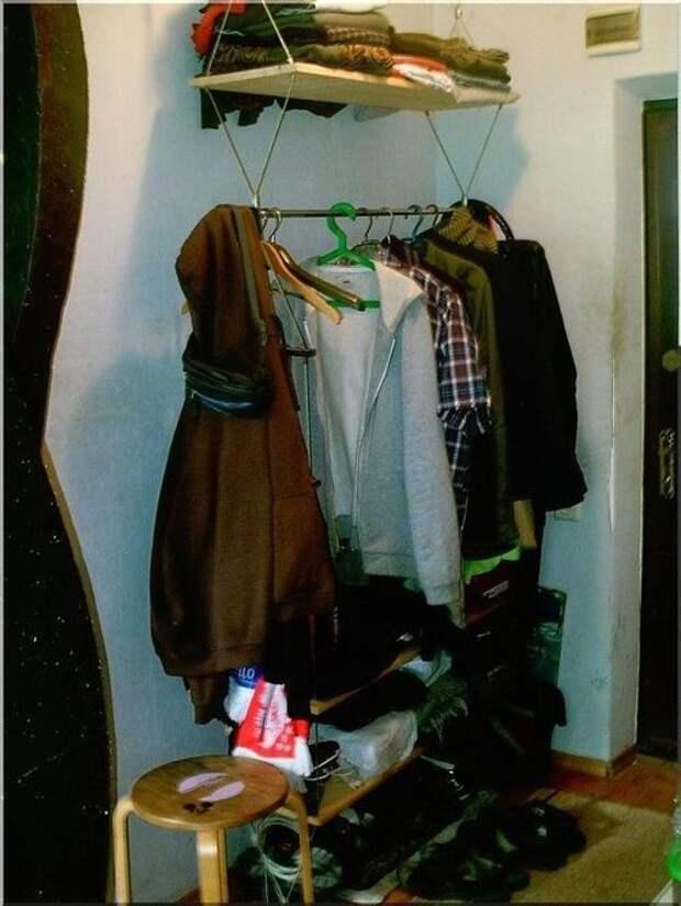 Подвесной гардероб в прихожую