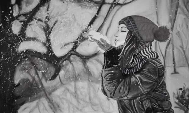 «Подставь ладонь под снегопад»