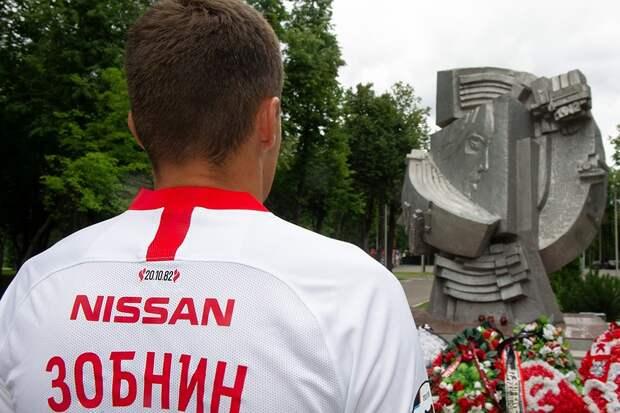 Нафутболках «Спартака» появится специальный знак впамять отрагедии в«Лужниках»