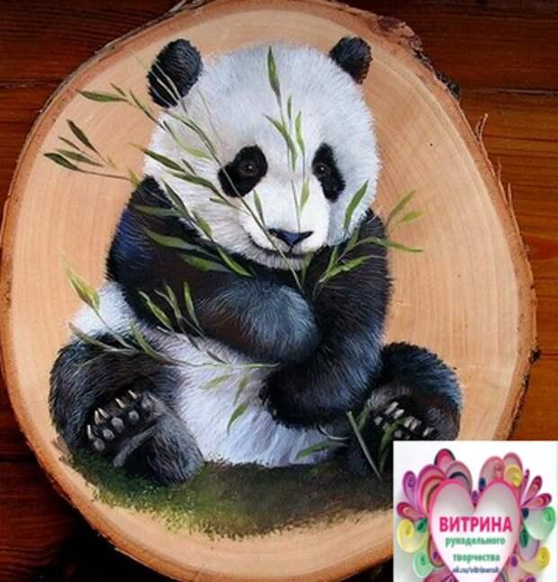 Творчество на спиле дерева. Очень реалистично и талантливо!
